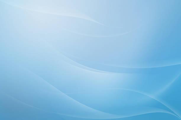 bleu et blanc ton fond abstrait courbe douce. illustration utilisée dans la décoration et espace vide pour le texte. - motif en vagues photos et images de collection