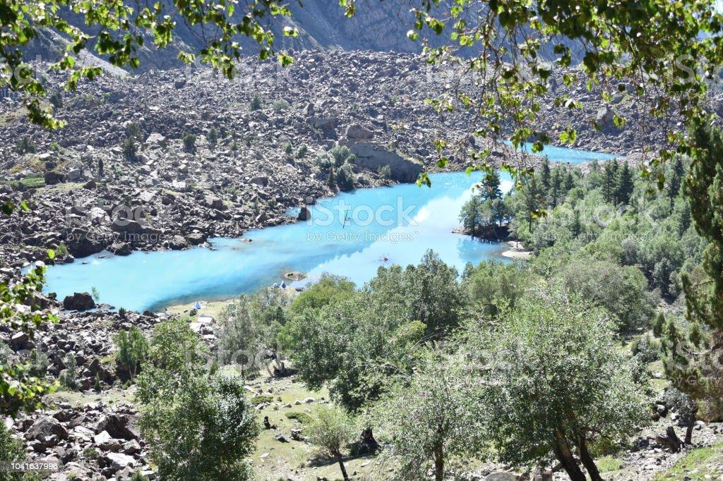 Blue Angel lago - foto de acervo