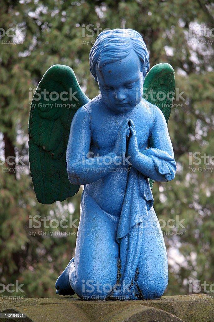 blue angel royalty-free stock photo