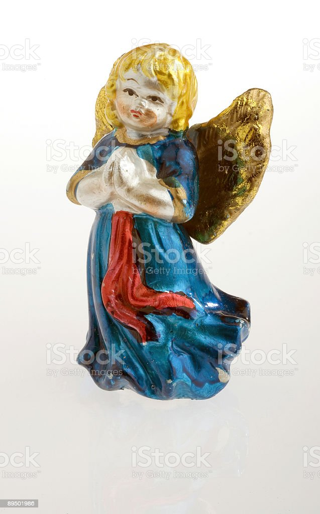 Blue angel royalty-free stock photo