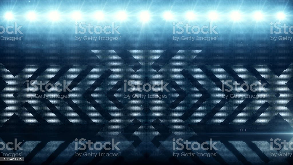 Blue arrows fast motion. computer generated 3d illustration abstract motion background stock photo