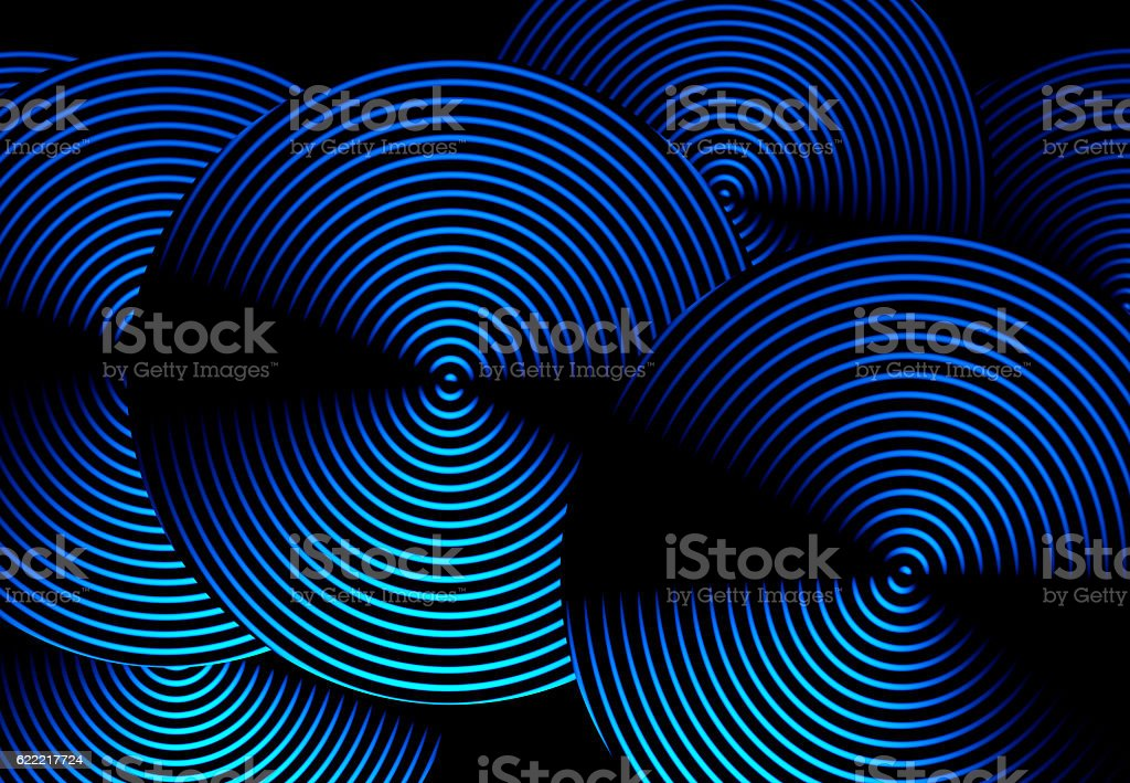 Blue art background abstract stock photo