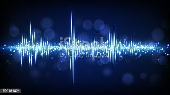 istock blue audio waveform background 590164024