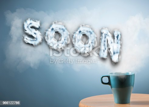 843847560 istock photo SOON / Blue background concept (Click for more) 966122786