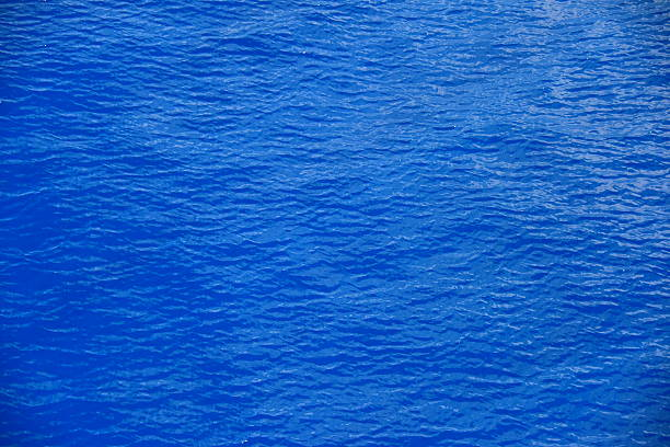 Blue background from Aegean Sea stock photo