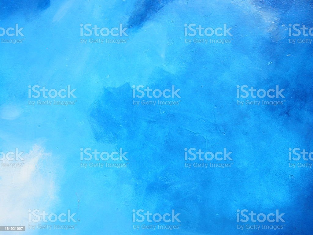 Blue background made of clouds stock photo