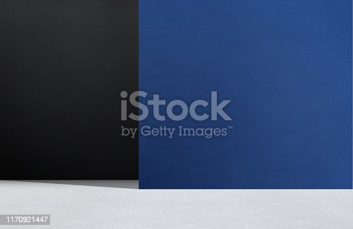Blue, Black Color, Dark, Backgrounds, Wall - Building Feature
