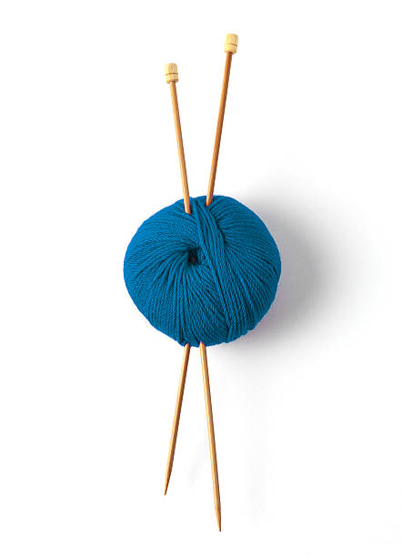 Blauer ball of wool – Foto