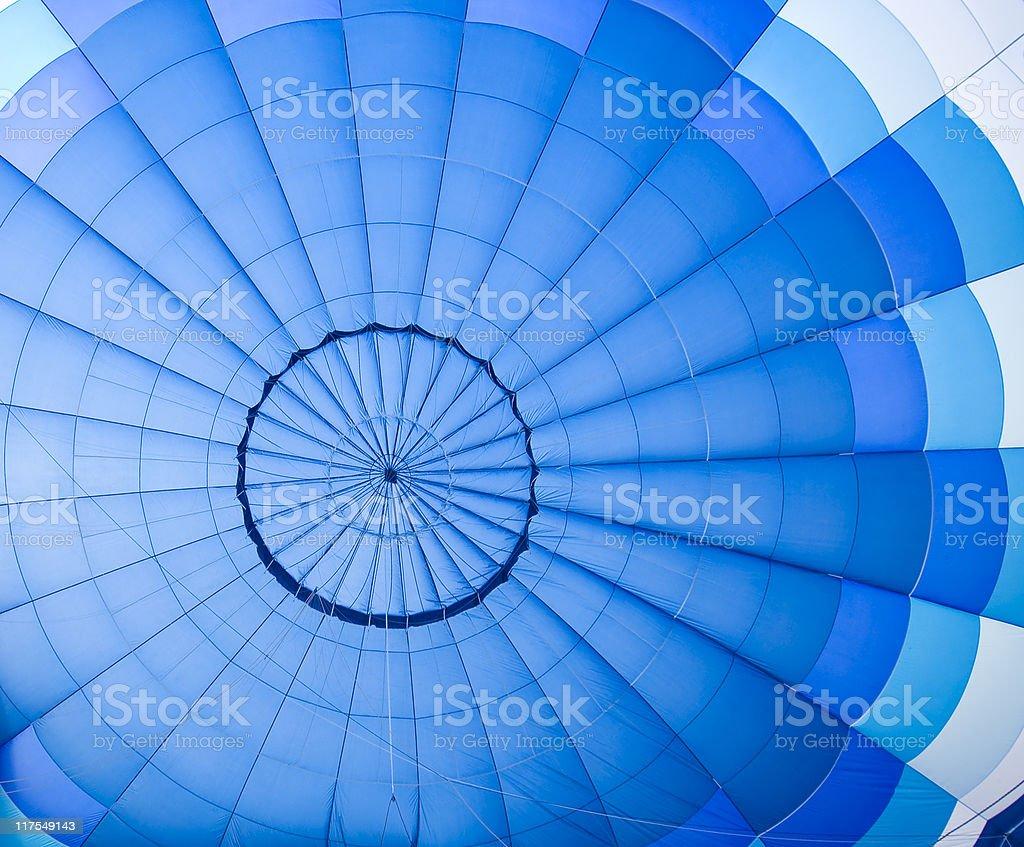 Blue balloon pattern royalty-free stock photo