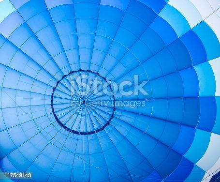 istock Blue balloon pattern 117549143