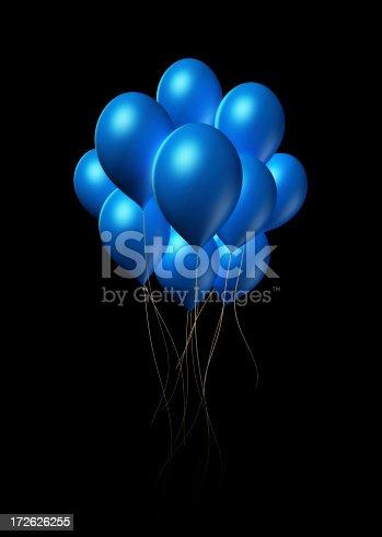 istock Blue Balloons 172626255