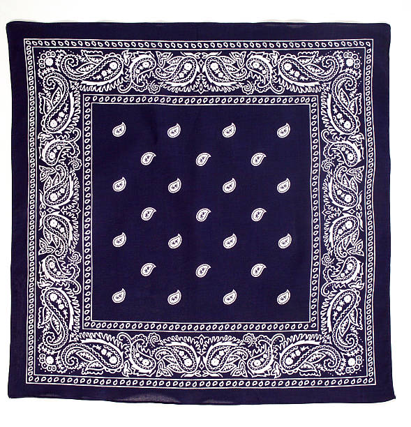 Blue Bandana stock photo