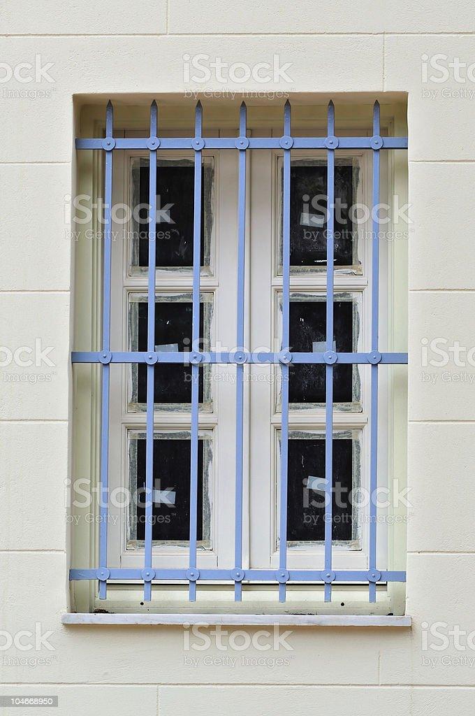 blue bars stock photo