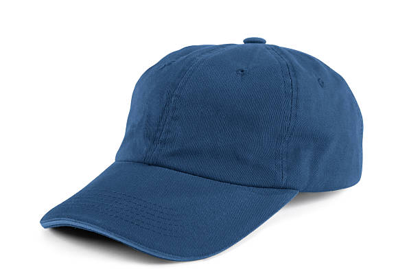 Blue Baseball Cap Blue Baseball Cap baseball cap stock pictures, royalty-free photos & images