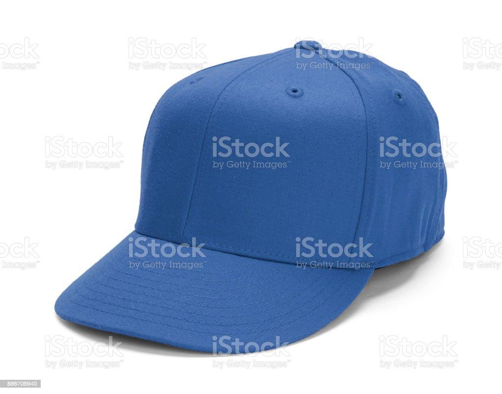 Blue Baseball Hat stock photo