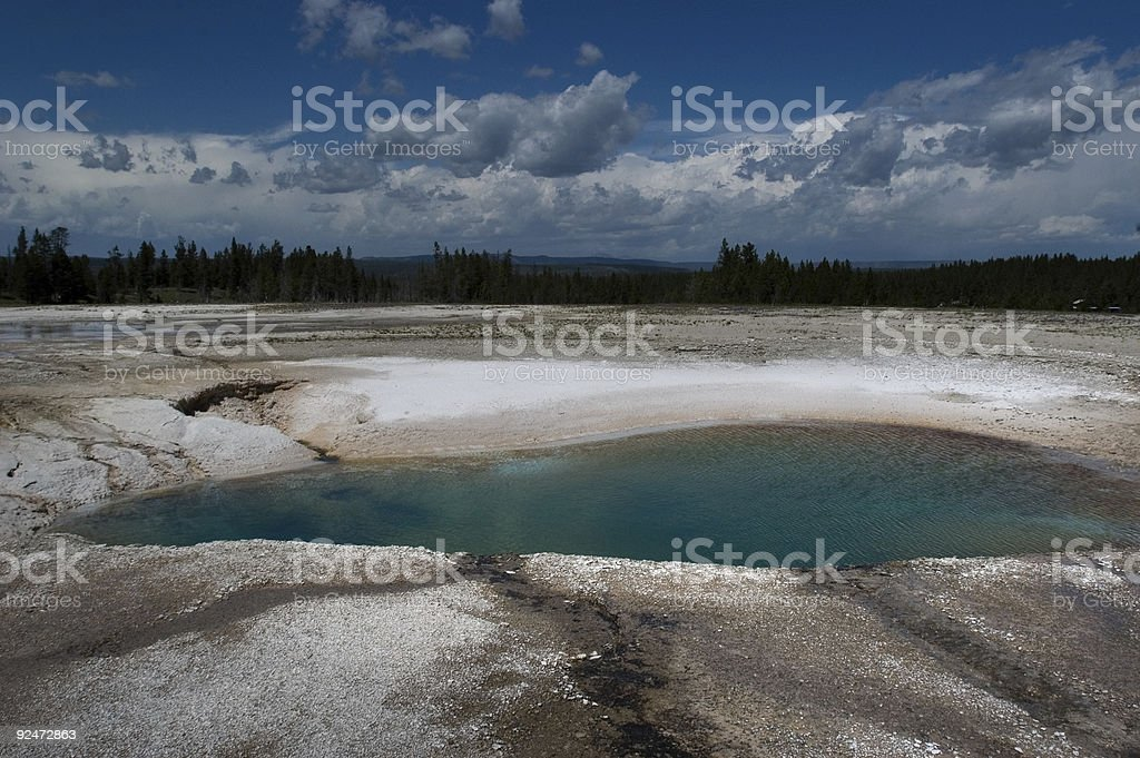Blue basin royalty-free stock photo