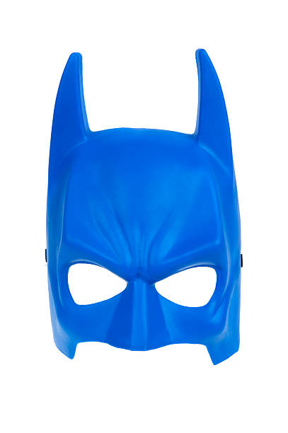 Blue Batman Mask stock photo