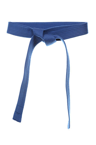 blue belt - martial arts gerville stock pictures, royalty-free photos & images