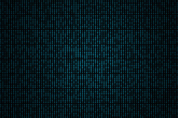 blue binary code - binary code stock pictures, royalty-free photos & images