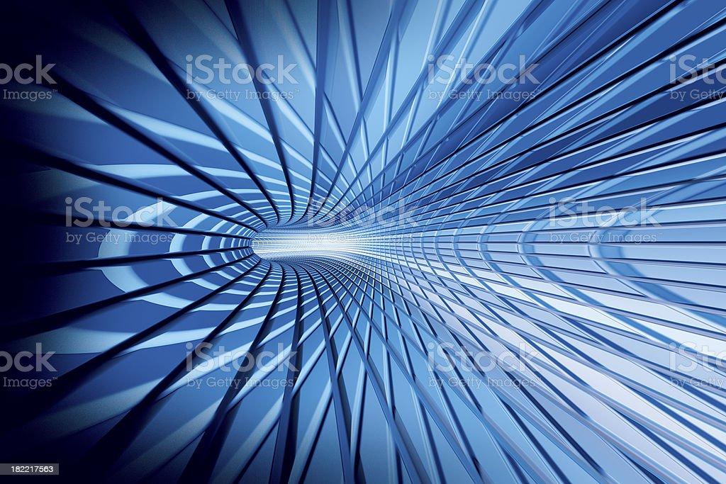 Blue Blast Background royalty-free stock photo