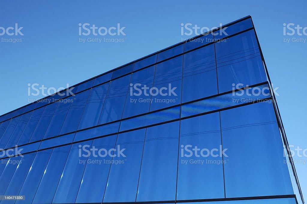 Blue block royalty-free stock photo
