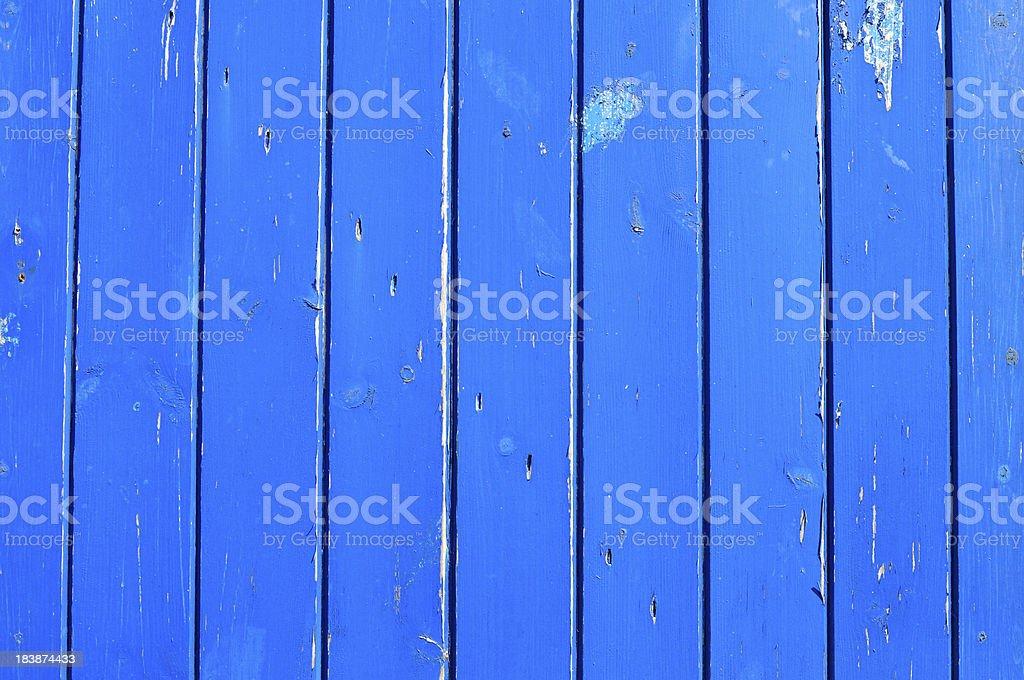 Blue boards stock photo