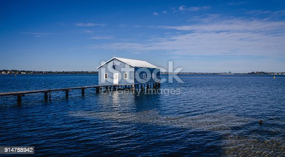 Boat House in Perth Western Australia