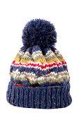 istock Blue bobble hat 159429305