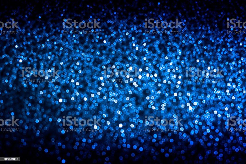 Blue bokah elegant abstract background stock photo