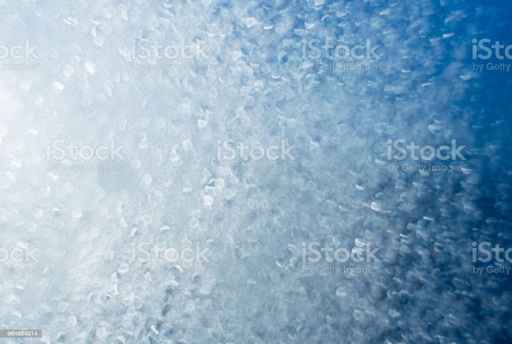 Blue bokeh background, glittering shiny abstract background royalty-free stock photo