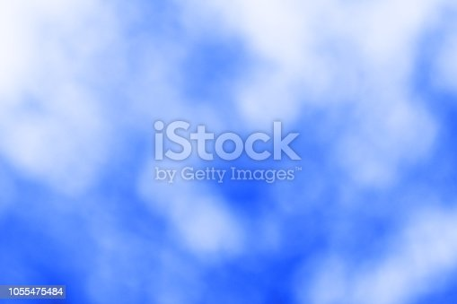 851413960istockphoto Blue bokeh background 1055475484