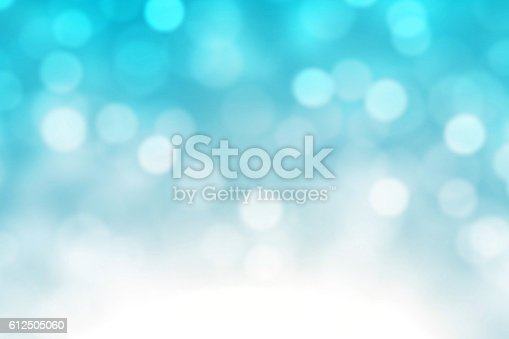istock Blue Bokeh Lights Abstract Background 612505060