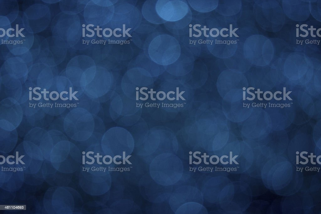 Blue Bokeh stock photo