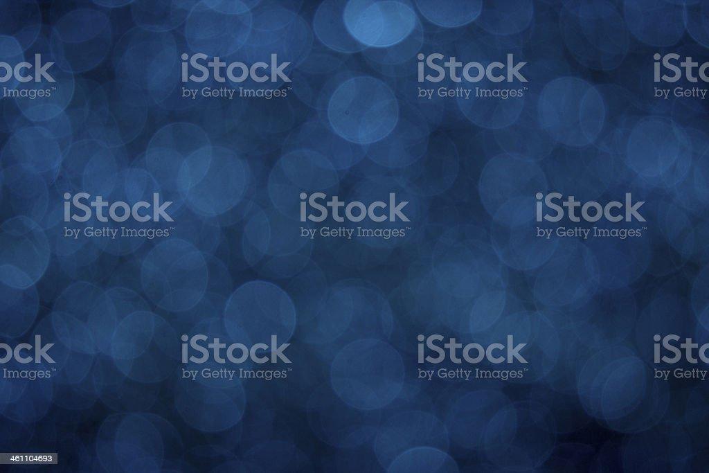 Blue Bokeh stock photo