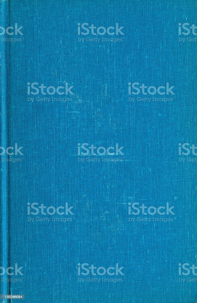 Blue Book Cover royalty-free stock photo