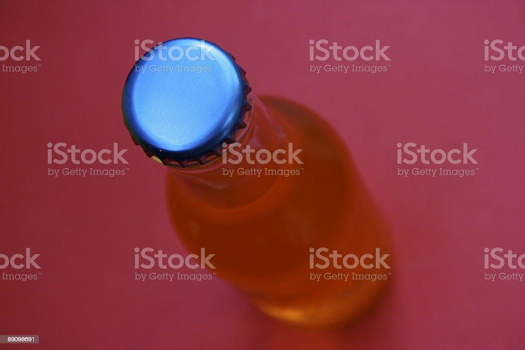 Голубой Колпачок для бутылок Стоковые фото Стоковая фотография