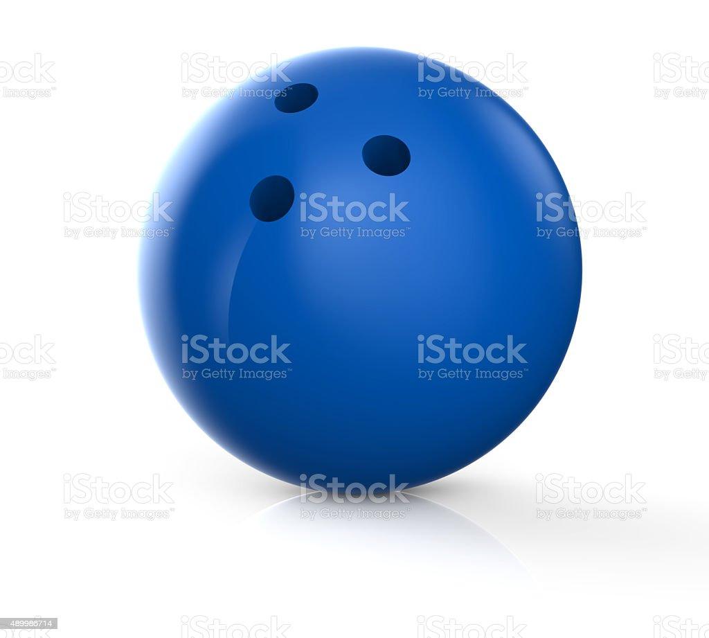 Blue bowling ball – Foto