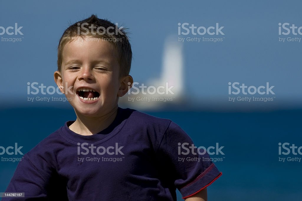 Blue Boy royalty-free stock photo