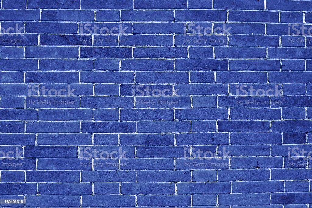 blue brick walls royalty-free stock photo