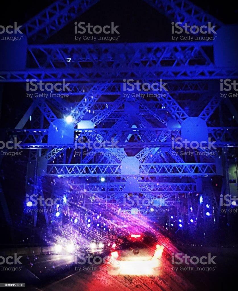 Pont bleu - Photo