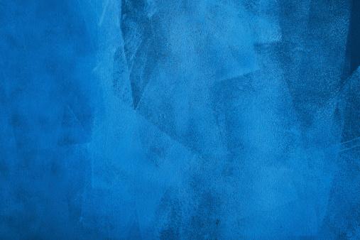 Blue brush strokes in horizontal background.