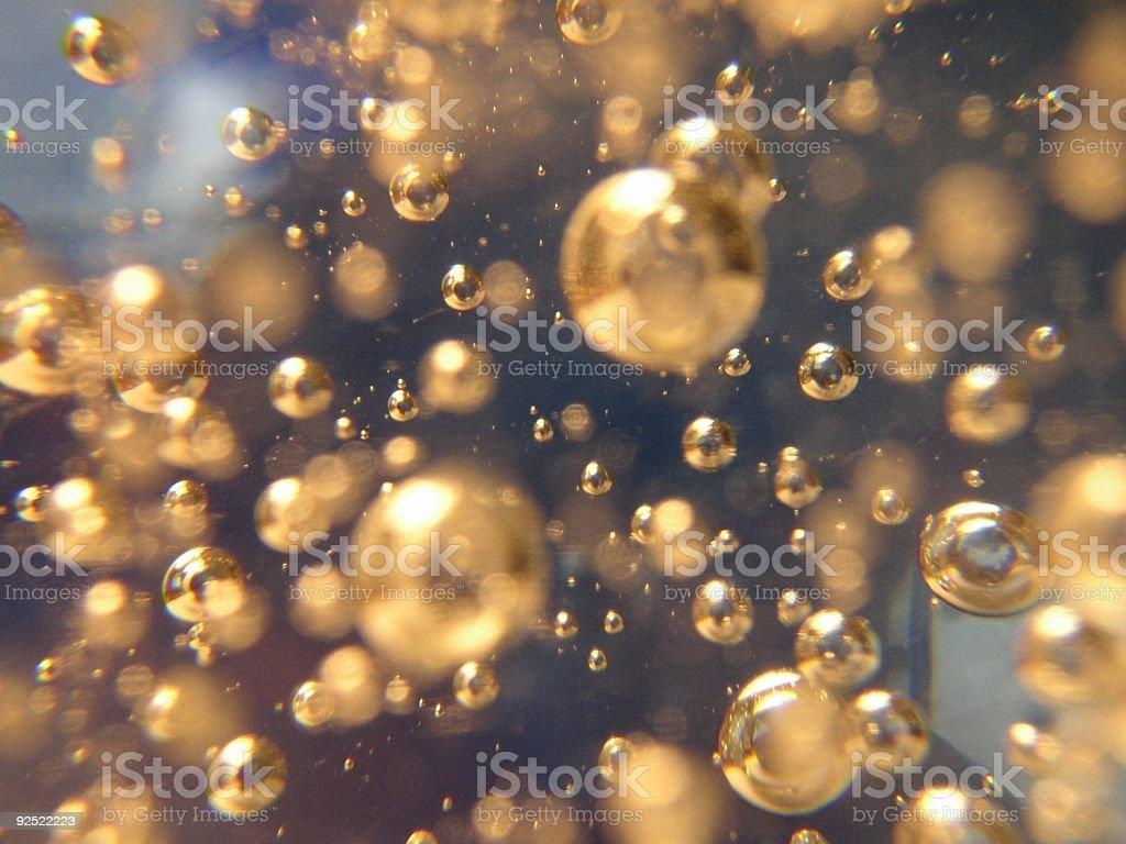 blue bubbles royalty-free stock photo