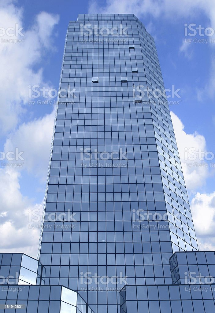 blue building 1 royalty-free stock photo