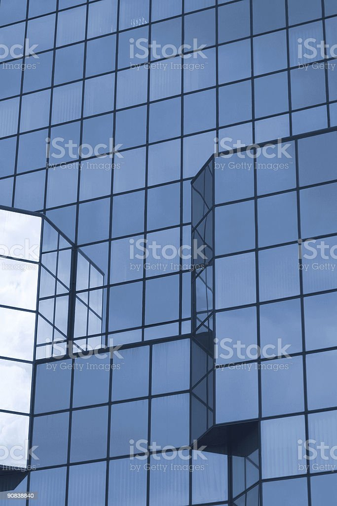 blue building 2 royalty-free stock photo