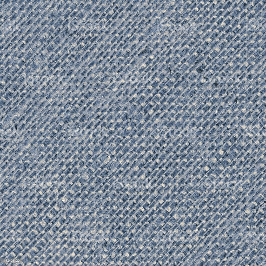 blue burlap canvas royalty-free stock photo
