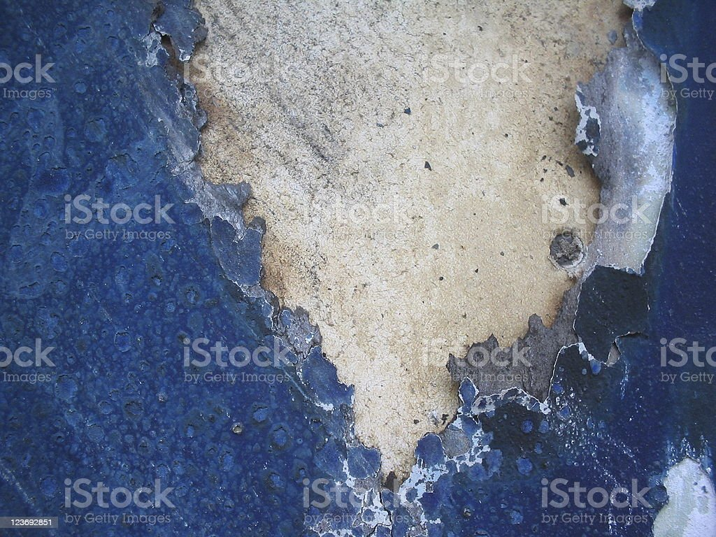 Blue burned wooden texture royalty-free stock photo