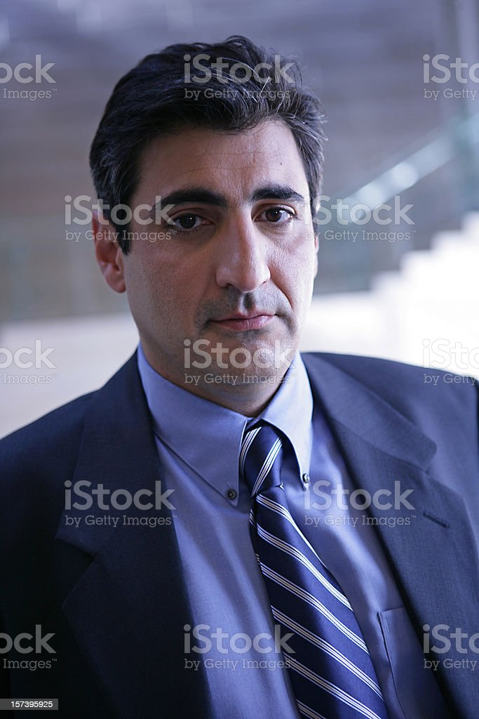 Blue Business royalty-free stock photo