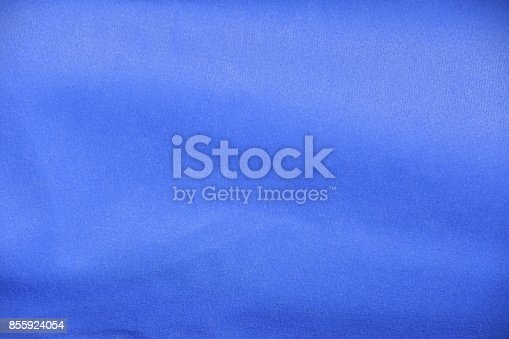 istock Blue canvas background 855924054