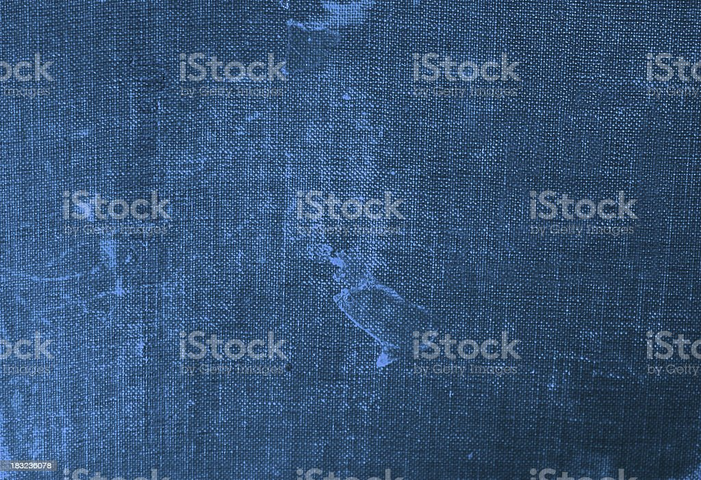 Blue Canvas Cover stock photo