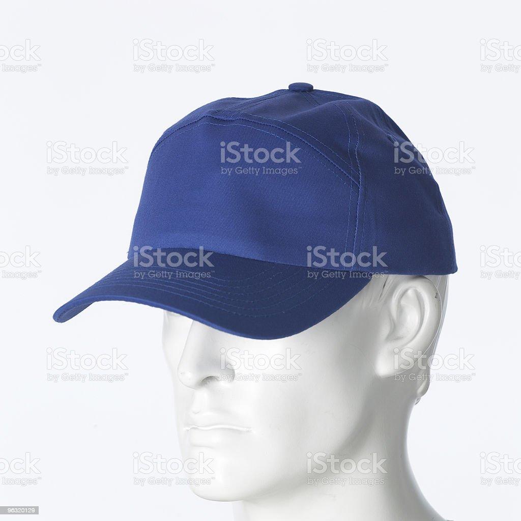 blue cap royalty-free stock photo